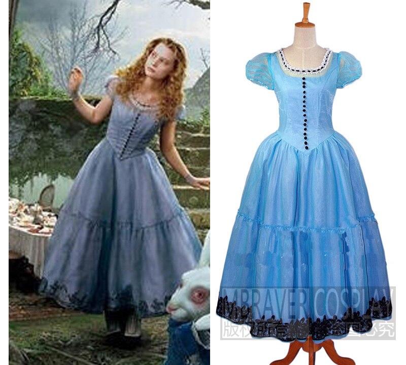 Alice in wonderland cosplay costume
