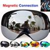 Winter Magnetic Ski Goggles UV400 Anti Fog Ski Mask Skiing Glasses For Men Women Snow Snowboard