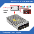 5V 40A 200W Single output Special LED display Switching Power Supply With EMC&Safety standards approved
