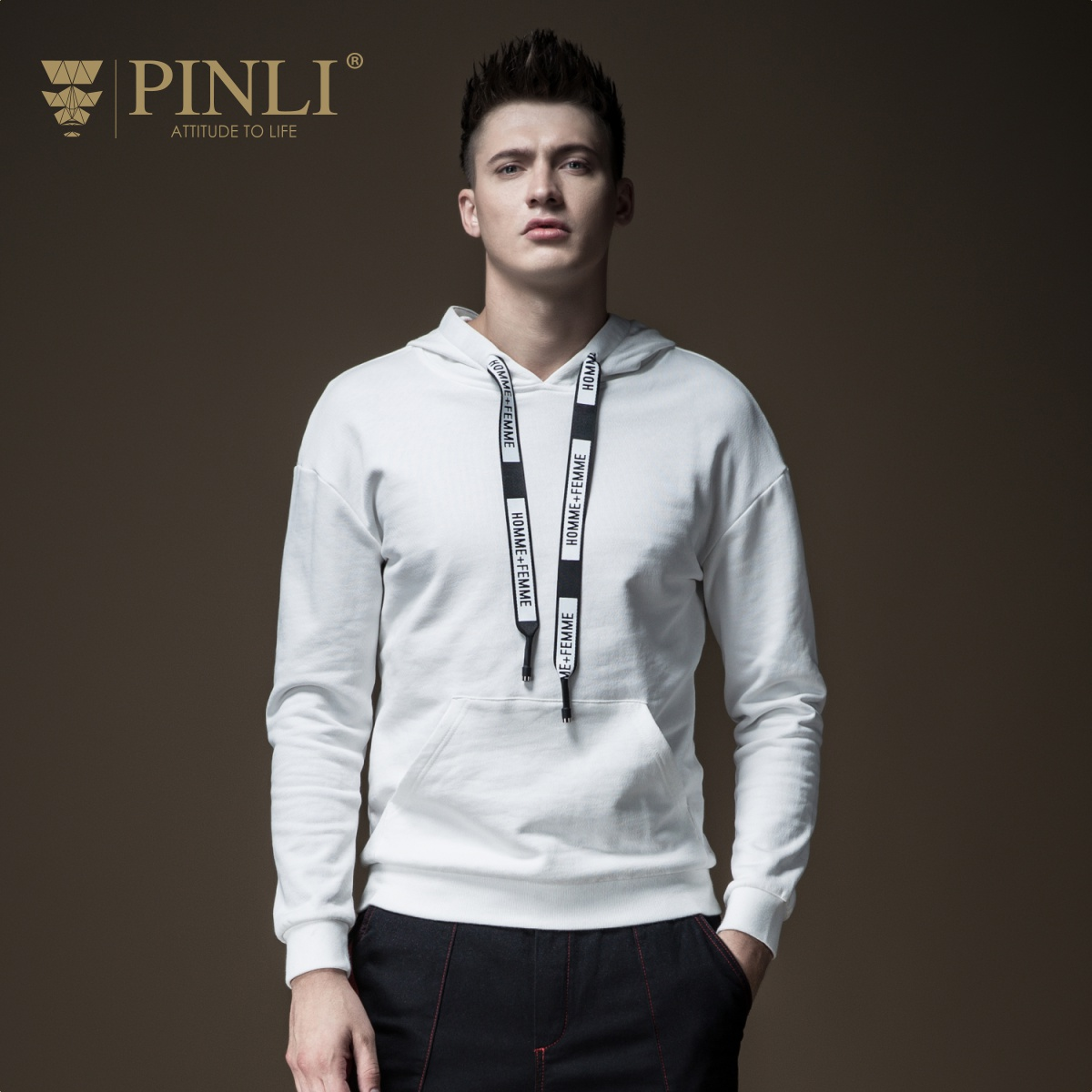 US $44 88 49% OFF|2018 Limited Linkin Park Palace Pinli Fall New Type Men's  Decorated Body Pure Colored Hat Leisure Sanitary Jacket B183109215-in