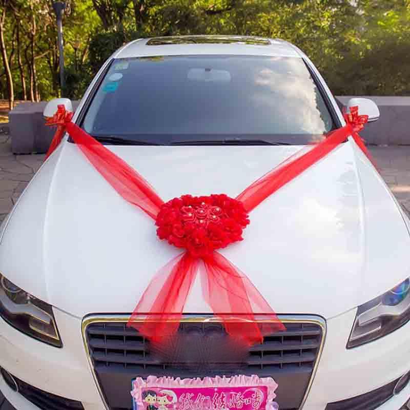 Γάμος Αυτοκίνητα Διακοσμητικά - Προϊόντα για τις διακοπές και τα κόμματα - Φωτογραφία 5