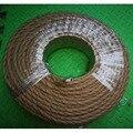 100 м/лот 2x0 75 винтажный трос витой кабель Ретро Плетеный Электрический провод DIY подвесной светильник провод винтажный шнур лампы