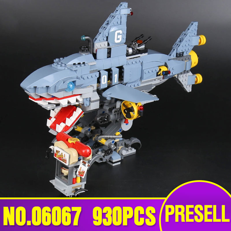 Lepin 06067 The Movies Series The Big Shark Set 70656 Building Blocks Bricks legoing Toys Model for children Christmas gift ynynoo lepin 02043 stucke city series airport terminal modell bausteine set ziegel spielzeug fur kinder geschenk junge spielzeug