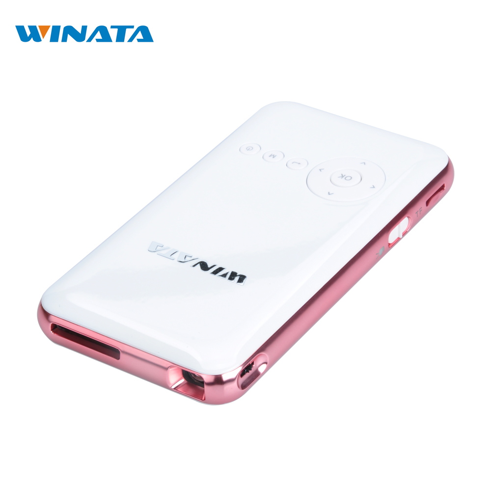 WINATA 32GB Mini Pocket Projector 1080P HDMI DLP Wifi Smartphone Projector Android OS Bluetoothbt4 0 Proyector