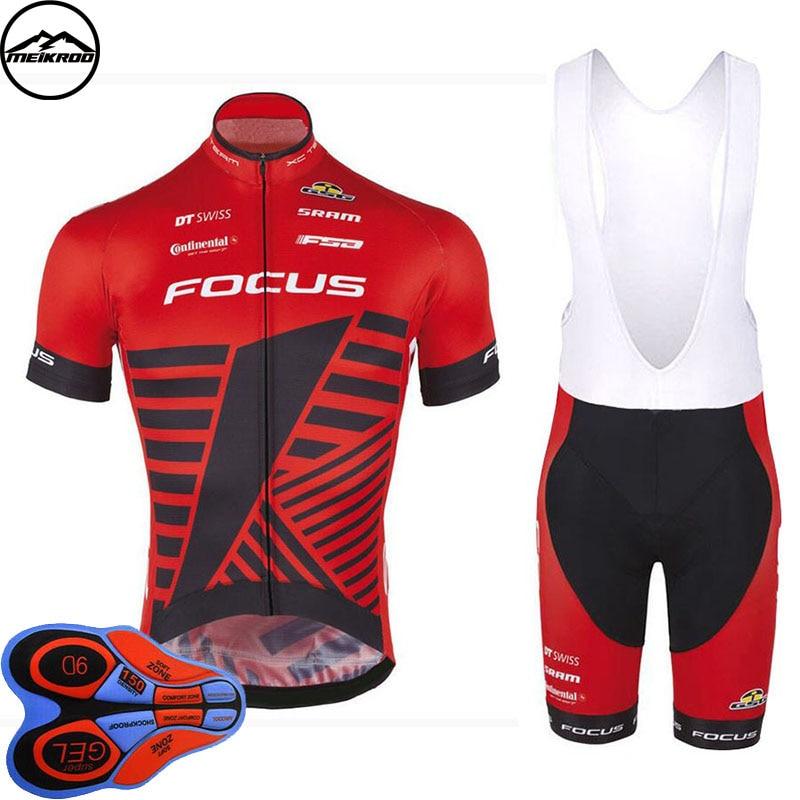 2018 Summer men Cycling Jersey bib shorts team Bike Short Suit cycling clothing Ropa Ciclismo MTB Bike Wear Culotte Set