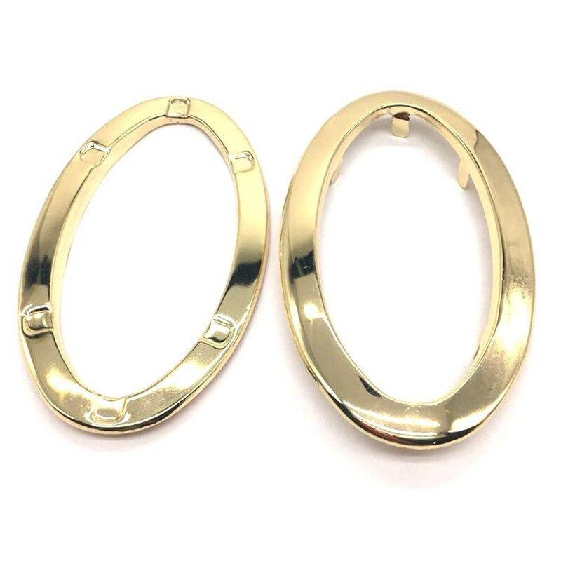120mm Oval Metal Purse Eyelets Purse Handles Gold