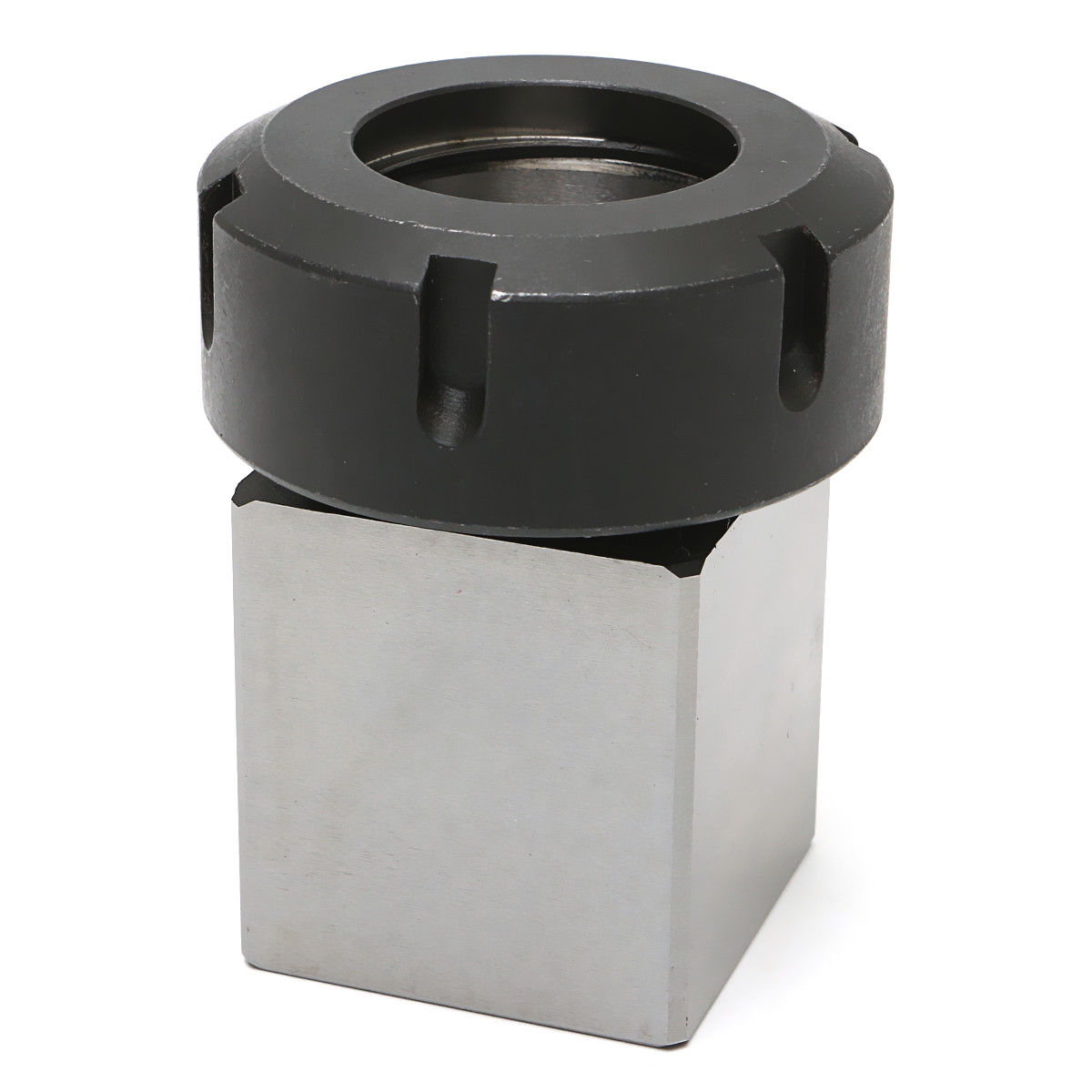 1pc Square ER40 Collet Chuck Block Holder 3900-5125 For CNC Lathe Engraving Machine Cross Hole Drilling 1pc square er40 collet chuck block holder 3900 5125 for cnc lathe engraving machine cross hole drilling