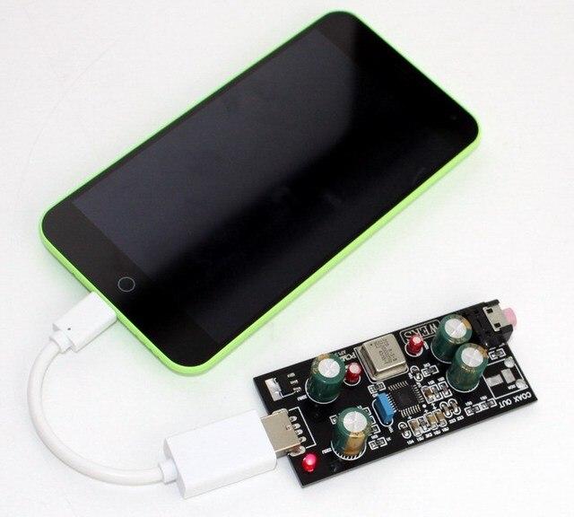 Бесплатная Доставка OTG PCM2706 Звуковая Карта ЦАП Декодер Android 4.0 Хотите хорошего качества, пожалуйста, выберите нас