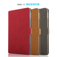 High Qualtiy Business Book Ultra Slim Folio Stand PU Leather Cover Protective Shell Sleeve Case For