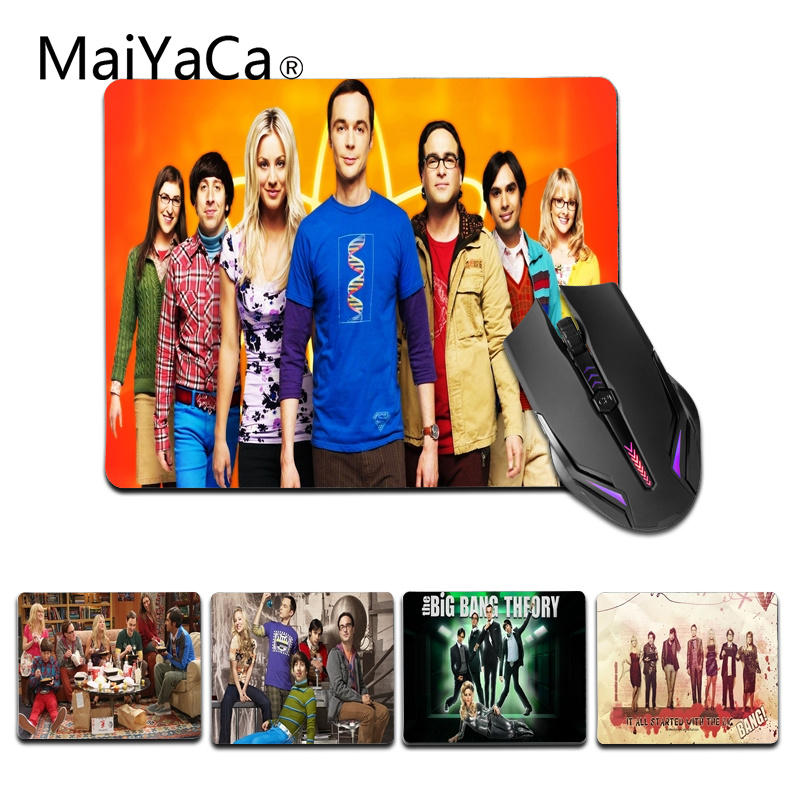 MaiYaCa Personalized Cool Fashion The Big Bang Theorys Office Mice Rubber Mouse Pad Size for 18x22cm 25x29cm Gaming Mousepad