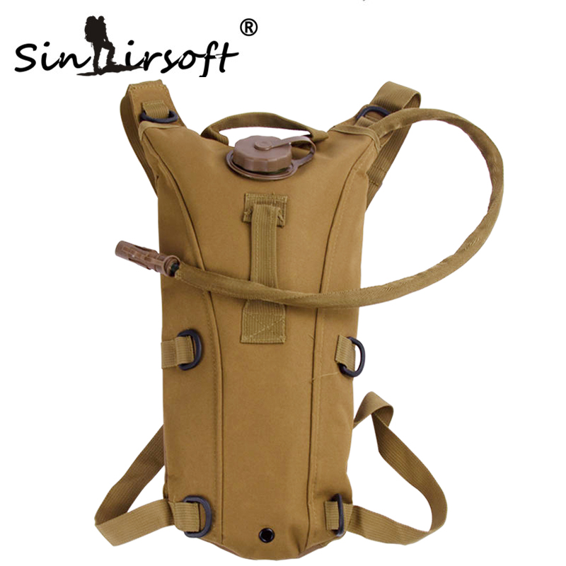 3L Tactical Hydration Backpack Molle Military Outdoor Camping Hiking Camelback Nylon Camel Water Bladder Bags Bag For Cycling