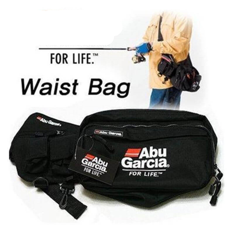 30*14*17cm Fishing Waist Tackle Bag Waterproof Waist Shoulder Pack Case Tackle Fanny Bag Pack Saltwater Freshwater Multi-Purpose