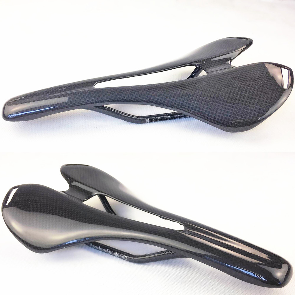 New full carbon fiber road bicycle saddle mountain mtb cycling bike seat saddle cushion bike parts bicycle accessories 3k finish