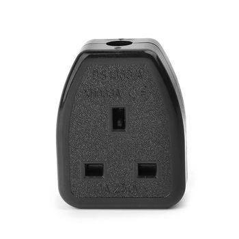 цена на Assembled UK Standard Power Socket Wiring Outlet Adaptor British Plug 13A 250V