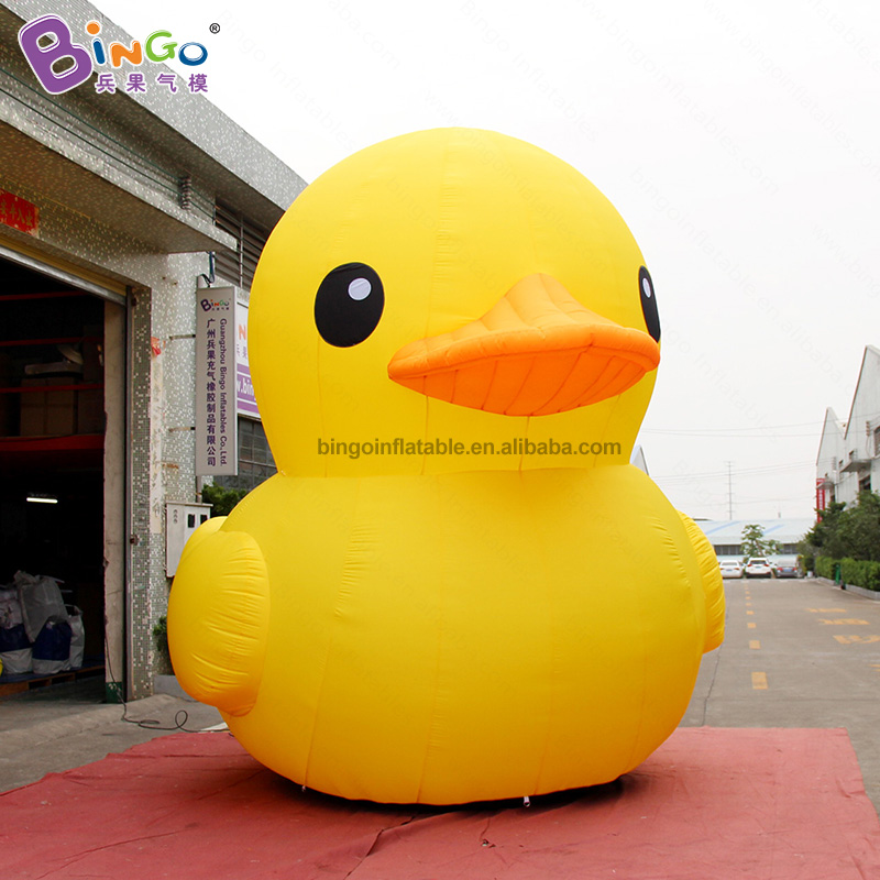 REALISTIC CUTE 4m inflatable big yellow duck decoration air loading duck cartoon balloon personalized for advert cartoon themeREALISTIC CUTE 4m inflatable big yellow duck decoration air loading duck cartoon balloon personalized for advert cartoon theme