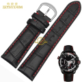 Genuine leather bracelet Watchband head layer cowhide Red stitching 18 19 20 21 22 23 24mm watch strap wristwatches band