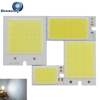 Big promotion ED COB Strip 40mm 36mm 26mm Mix Square moudle 9V 12V DC 2W 3W 4W 6W Cold White auto Reading Light Source фото