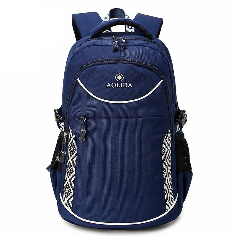 AOLIDA Backpack Men Canvas Laptop College School Bags For Teenagers And Women 2017 Zipper Mochila Masculina Lona Back Pack Men