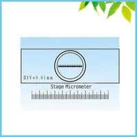 Envío Gratis DIV = micrometro de escenario de 0,01mm