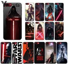 Yinuoda Star Wars Photo Smart Cover Hitam Lembut Shell Ponsel Case untuk iPhone X XS Max 6 6 S 7 7 Plus 8 8 PLUS 5 5S SE XR(China)