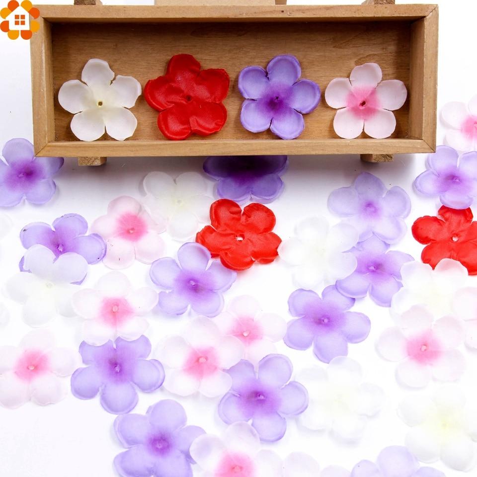 500pcs Simulation Cherry Blossom Petals Rose Petals Wedding Petals  Fake Artificial Flower For Home And Wedding Decoration