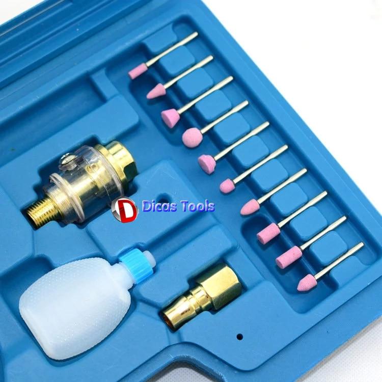 mini pneumatikus csiszoló toll mikro légcsiszoló csiszoló - Elektromos kéziszerszámok - Fénykép 5