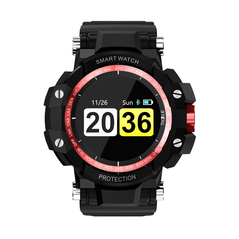 GW68 Smart Watch Waterproof IP67 200 Days Standby Smartwatch Heart Rate