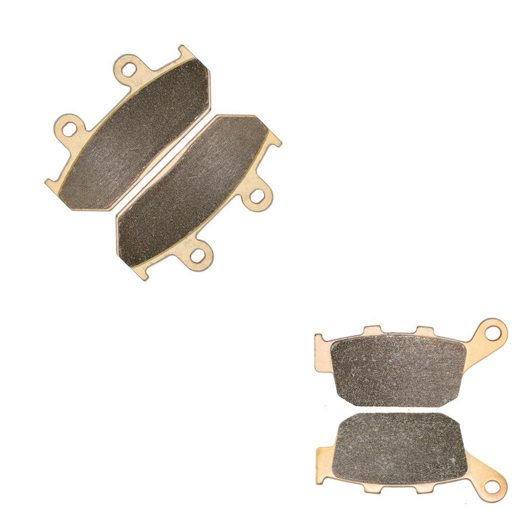 Brake Pad set fit for HONDA NX650 NX 650 Dominator J-K RD02 E851 1988 1989 1990 1991 1992 / RD02 E851 1993 1994 1995 1996 motorcycle front and rear brake pads for honda nx 500 nx500 nx650 j k l m dominator 1988 1991 black brake disc pad