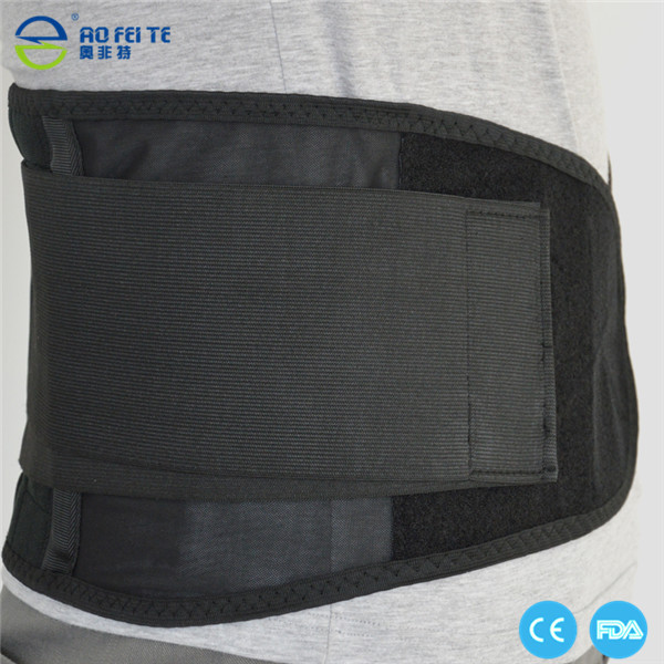 Ayuda de la cintura con la función de imán, cinturón protector de espalda con fuerza en el precio bajo soporte lumbar envío de La Gota