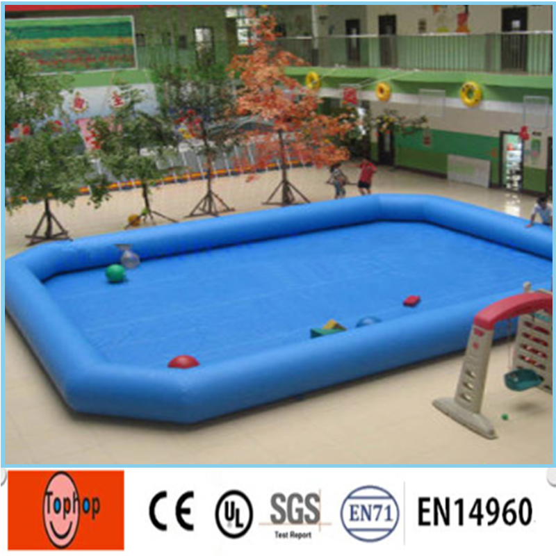 US $808.95 |Free Shipping 5*5m Inflatable Swimming Pool Giant Inflatable  Above Ground Square Pool with Factory Price for Sale-in Inflatable Bouncers  ...