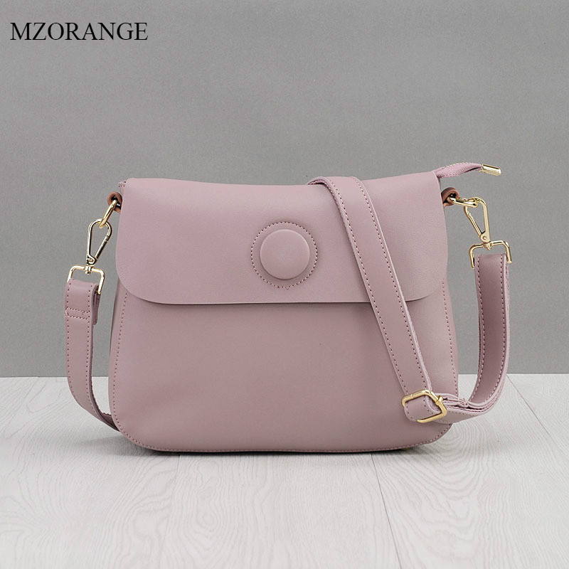 MZORANGE Brand Women Messenger Bag Genuine Leather Flap Crossbody Bag Fashion design Cowhide Shoulder Bag Vintage Women Bag denim vintage quilted across bag women s blue jean plaid stylish brand fashion flap chain crossbody shoulder bag purse handbag