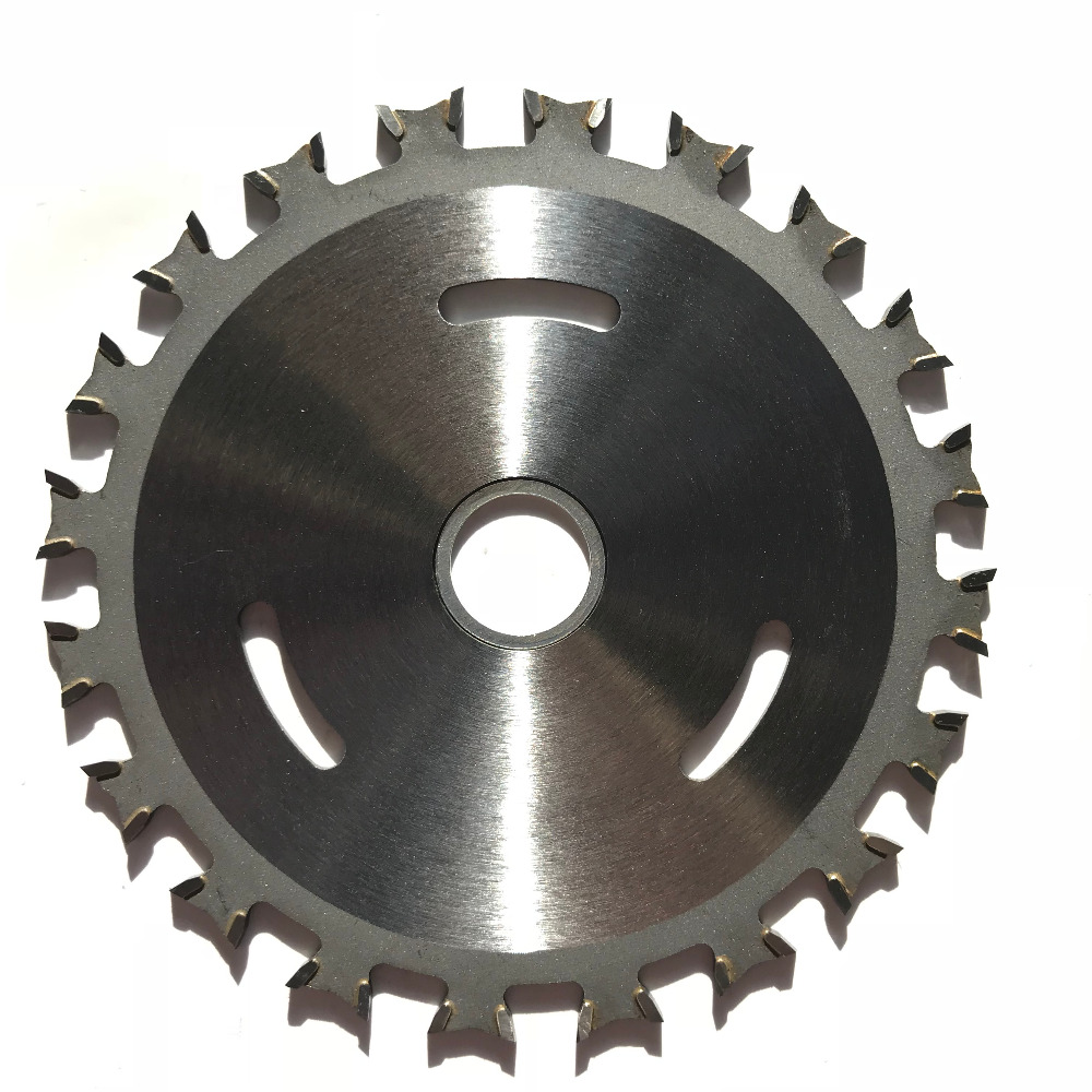 Free shipping of 1PC 110 1 8 20 40T double sides tipped carbide TCT saw blade for hard wood thin iron plastic general purpose in Saw Blades from Tools