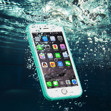 Ockie Waterproof Case life Water Proof Cases 5 5S  Shockproof Anti-dirt Phone Cover Case 6S 5  for iphone 7 plus