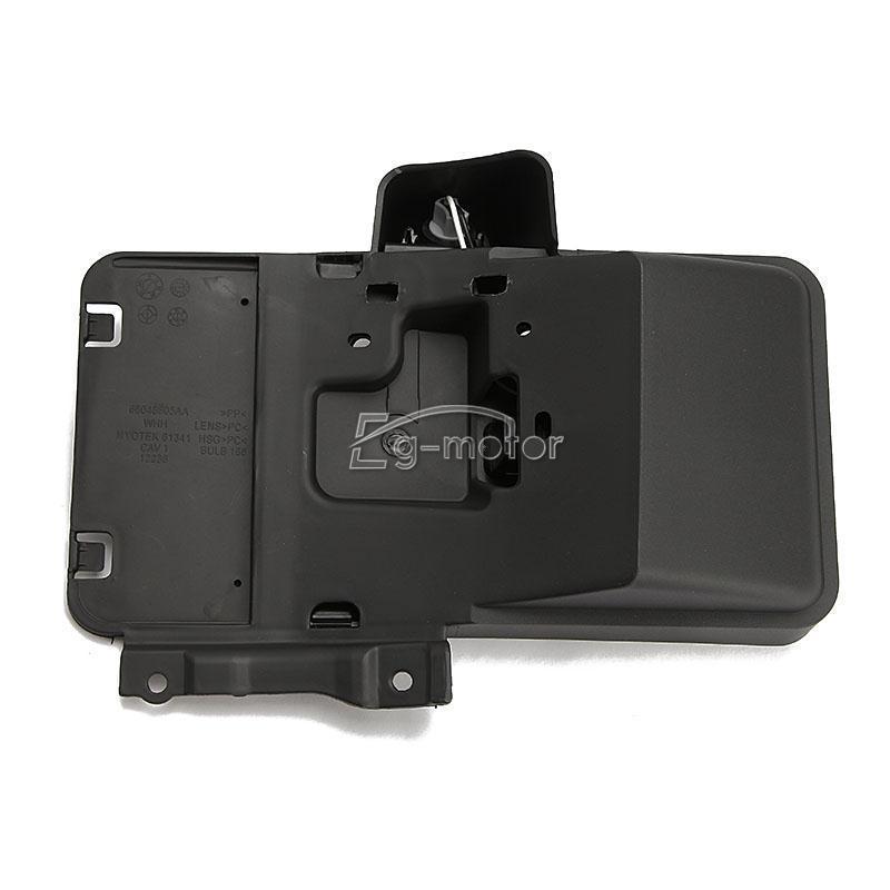 Support de plaque d'immatriculation arrière avec lumière pour Jeep Wrangler JK 68064720AA