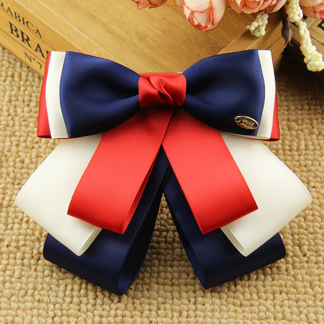 2aae11b778 i-Remiel High-end Handmade Ribbon Flower Bow Tie for Women Suit Coat Shirt