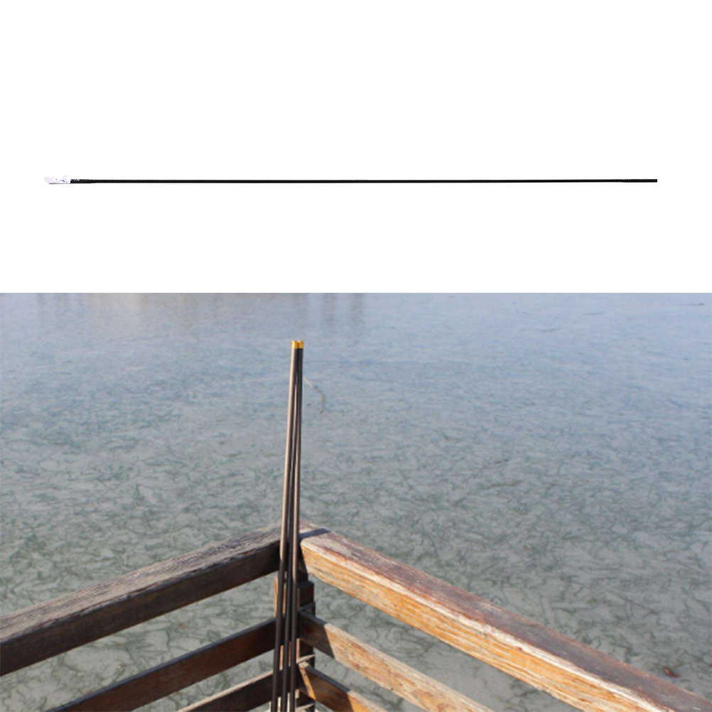 2019 46Cm Zwart Hengel Tips Spare Tip Taiwan Hengel Tip Solide En Holle Carbon Staaf Accessoires Hoge kwaliteit