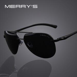 MERRYS Brand Men 100% Polarized Aluminum Alloy Frame Sunglasses Fashion Mens Driving Sunglasses S8281(China)