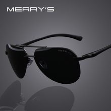 MERRYS Brand Men 100 Polarized Aluminum Alloy Frame Sunglasses Fashion Mens Driving Sunglasses S8281