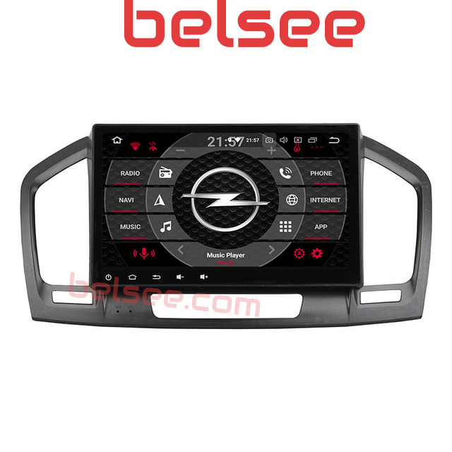 """Belsee 9 """"ips сенсорный экран радио Android 8,0 gps навигации планшеты Auoradio Stereofor Opel Vauxhall Insignia 2009 2010 2012 2011"""