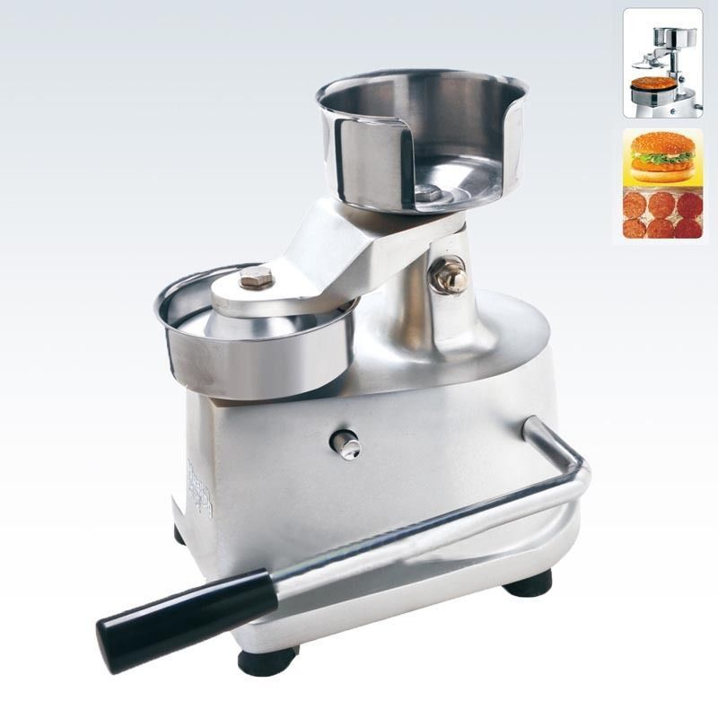 Hamburger Press maker Manual Hamburger Burger Press Patty Meat Patties Meatball Shaping Machine 100mm