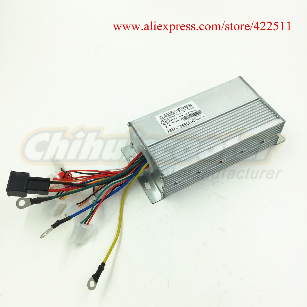 Electric Scooter Controller 1800w 48v Brushless Dc Motor Wiring Diagram 37a Bldc With Double Speed Connection In Parts