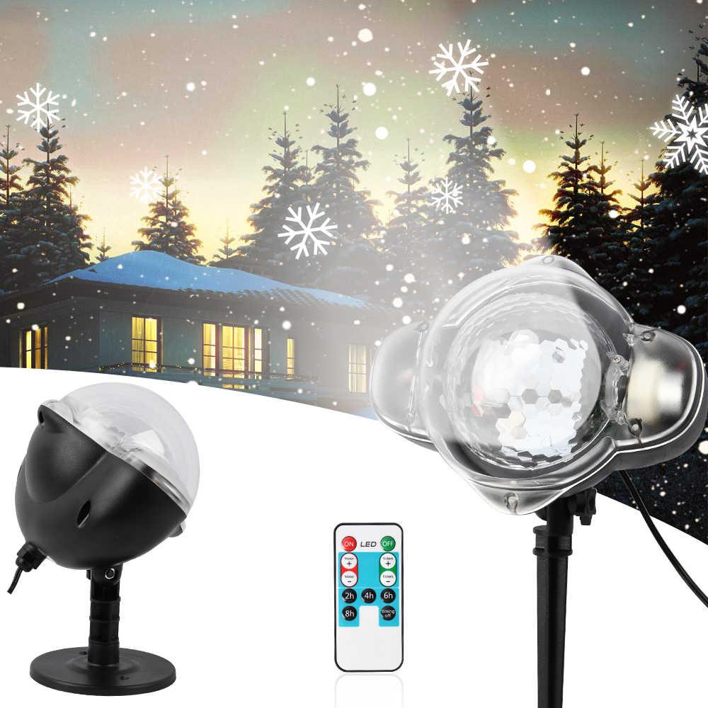 Led Christmas Lights Outdoor Snowfall