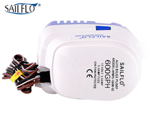 Sailflo 12V 600GPH automatic bilge pump