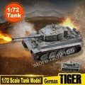 Magic Power Scale Model 1:72 Scale Tank Model German ArmyTiger Heavy Tank 36604 Finished Colored Tank Static Model CollectionDIY