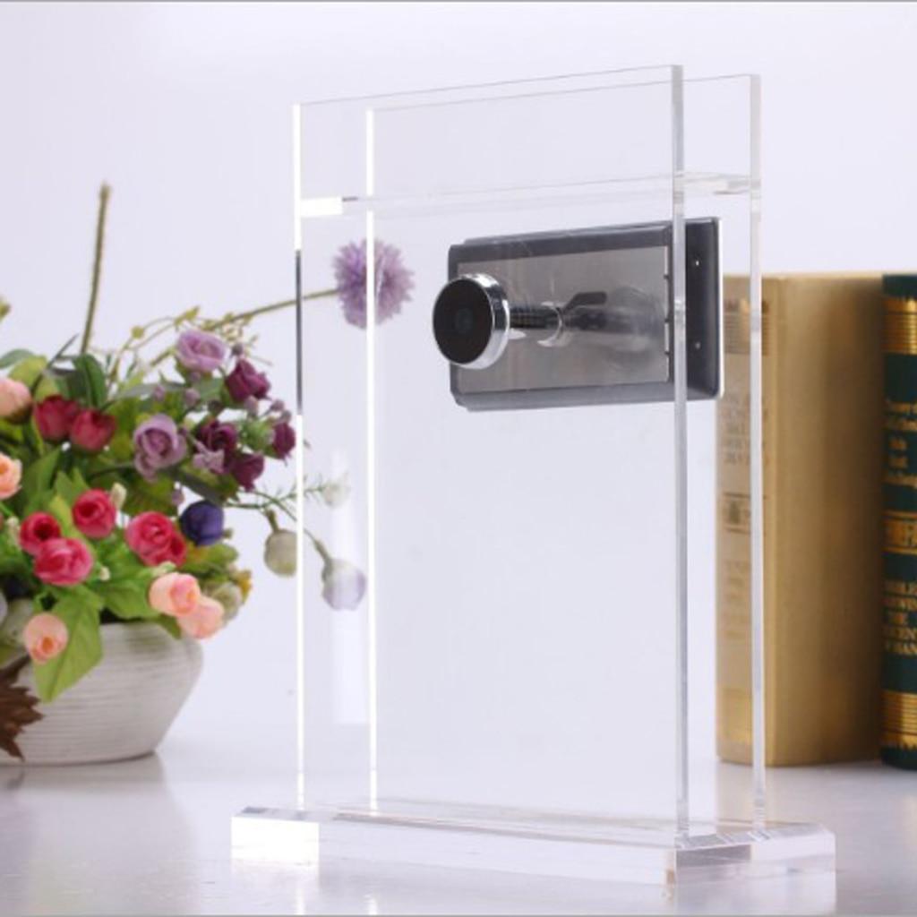 Caméra vidéo de visionneuse de judas d'oeil de chat de porte commerciale Cam TFT moniteur d'affichage à cristaux liquides système de Surveillance de sécurité-Cam de moniteur de sécurité
