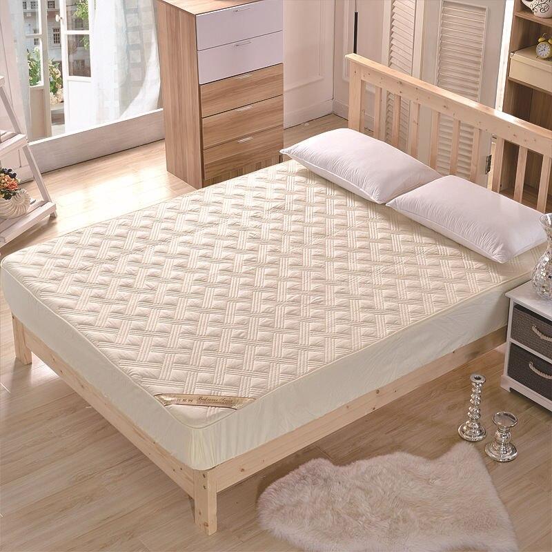 Couvre-matelas imperméable matelassé pour lit étanche à l'humidité et à la mites