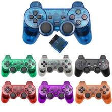 בקר אלחוטי עבור סוני פלייסטיישן 2 Gamepad רטט Controle עבור mando PS2 ג ויסטיק controle ps2 sem fio