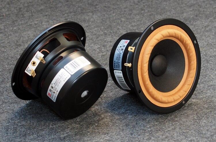 2PCS Audio Labs 4inch Full Range Speaker Unit Special Suspension Cone Round Frame/Basket 15W Pair Price2PCS Audio Labs 4inch Full Range Speaker Unit Special Suspension Cone Round Frame/Basket 15W Pair Price