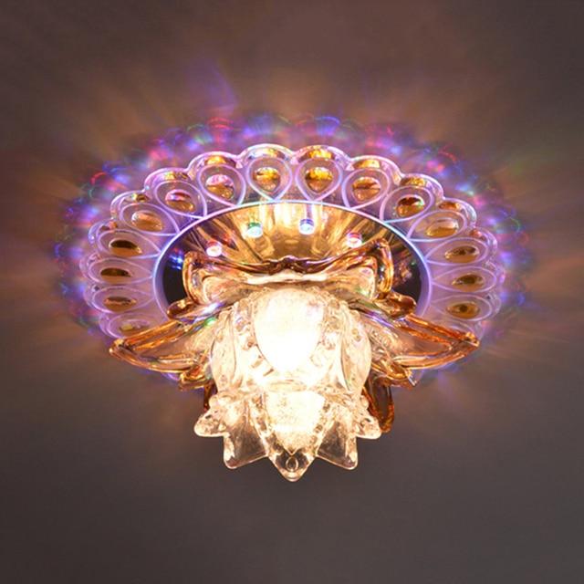 5 W moderne plafond verlichting led kristal woonkamer hal lichten ...
