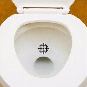 Image 2 - 3 pièces Tinkle cibles vinyle autocollants décalcomanie décor de toilette jouet soldat pot formation décalcomanies pour enfants garçons toilette décoration